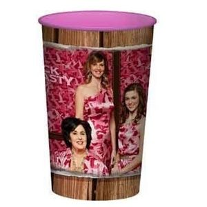 Duck Dynasty Pink Plastic 22 Ounce Reusable Cup